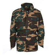camouflage veldjas woodland m-65