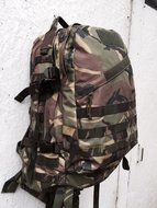 Leger rugzak grab bag lmb daypack camouflage met molle systeem gebruikt