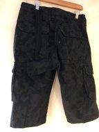 korte broek zwart night camouflage