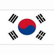 Zuid Koreaanse vlag, vlag Zuid Korea