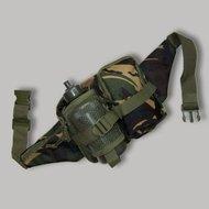 heuptas leger camouflage met bidon veldfles