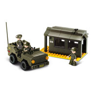 Wachtpost leger speelgoed Sluban