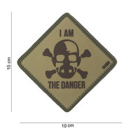 Patch Breaking Bad I am the danger, pvc met klittenband