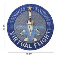 Virtual Flight patch embleem van stof art. nr. 4022