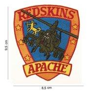 Apache Redskins patch embleem van stof art. nr. 4085