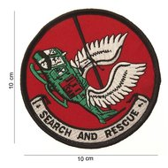 Search and Rescue patch embleem van stof art. nr. 4090