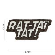 Patch Rat-Tat-Tat bruin