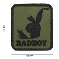 Patch bad boy groen zwart