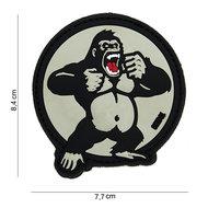 Patch King Kong Gorilla, pvc met klittenband