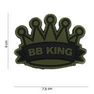 Patch BB king pvc met klittenband
