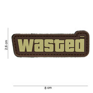 Patch wasted pvc met klittenband