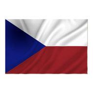 Tsjechische vlag, vlag Tsjechië