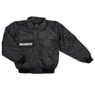Security beveiliging jas zwart
