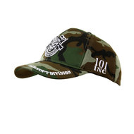 KINDER baseball cap pet leger camouflage 101 inc skull