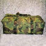 weekendtas camouflage defensie
