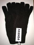 Polsmofjes handschoenen groen met open vingertoppen