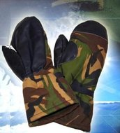 Wanten  Handschoenen leger camouflage